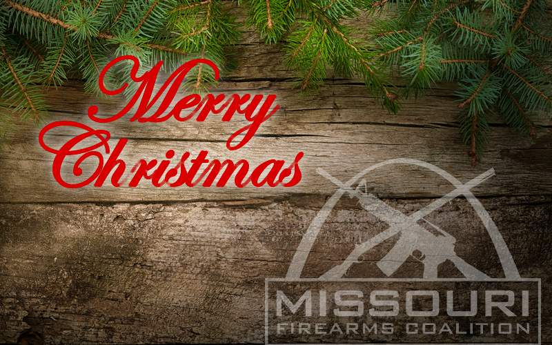 Merry Christmas from the Missouri Firearms Coalition!