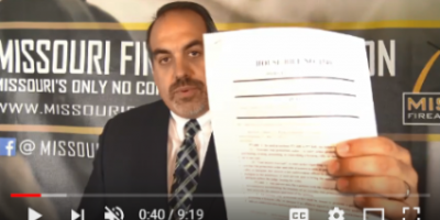 "Video Update on ""Red Flag Gun Seizure"" Legislation — TAKE ACTION!"