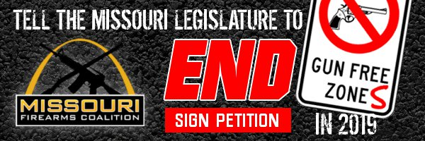 "Senator-Elect Burlison Pre-Files ""Gun Free Zone Repeal"" Legislation!"