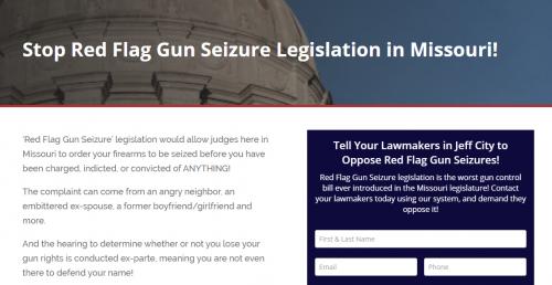 'Red Flag Gun Seizures' Filed in Jeff City!