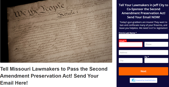 Has Your Lawmaker Cosponsored SAPA Legislation?