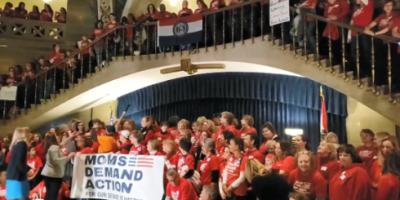 Hundreds of Gun Grabbers Hit the Capitol! Fight Back!