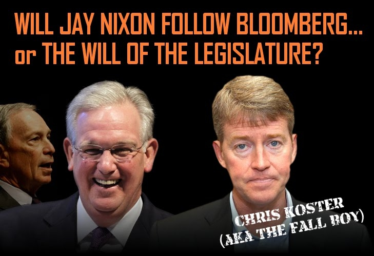 Pressure Mounting on Gov. Nixon to Sign Constitutional Carry Into Law!