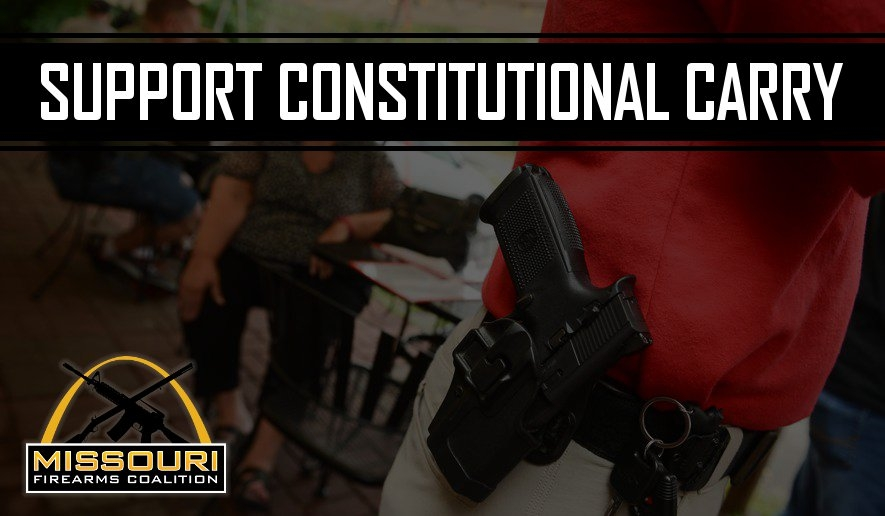 Missouri: Status on Constitutional Carry!
