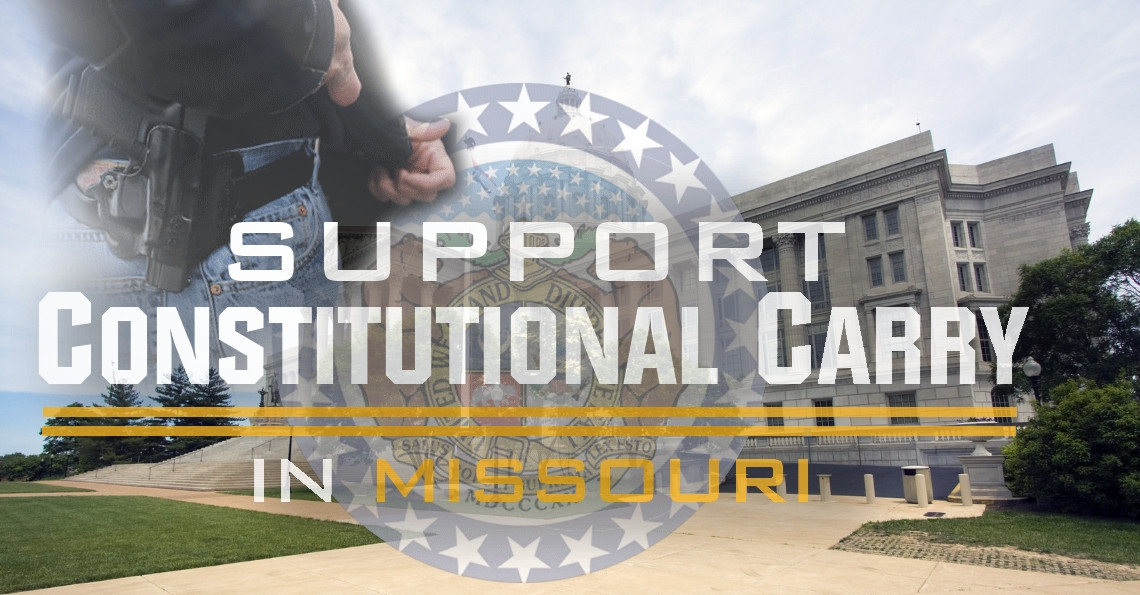House Committee to Hold Hearings on Constitutional Carry Legislation THIS Monday!